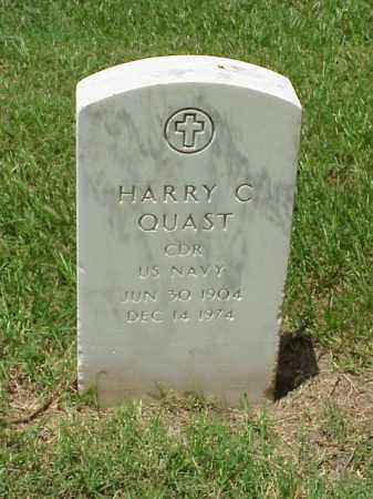 QUAST (VETERAN 2 WARS), HARRY C - Pulaski County, Arkansas | HARRY C QUAST (VETERAN 2 WARS) - Arkansas Gravestone Photos