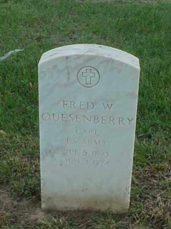 QUESENBERRY (VETERAN 2 WARS), FRED W - Pulaski County, Arkansas   FRED W QUESENBERRY (VETERAN 2 WARS) - Arkansas Gravestone Photos