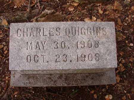 QUIGGINS, CHARLES - Pulaski County, Arkansas   CHARLES QUIGGINS - Arkansas Gravestone Photos