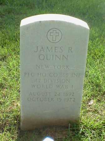 QUINN (VETERAN WWI), JAMES R - Pulaski County, Arkansas | JAMES R QUINN (VETERAN WWI) - Arkansas Gravestone Photos