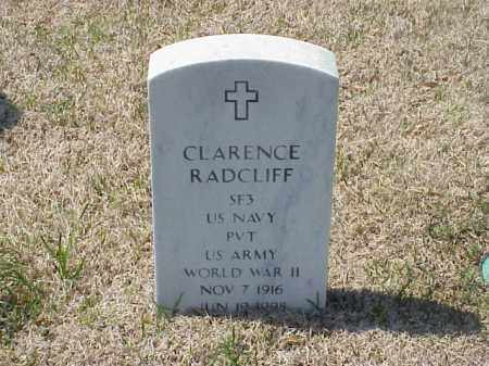 RADCLIFF (VETERAN WWII), CLARENCE - Pulaski County, Arkansas | CLARENCE RADCLIFF (VETERAN WWII) - Arkansas Gravestone Photos