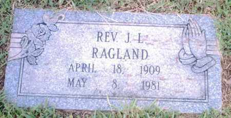 RAGLAND, REV., J. L. - Pulaski County, Arkansas   J. L. RAGLAND, REV. - Arkansas Gravestone Photos