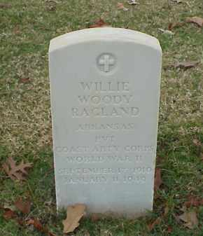 RAGLAND (VETERAN WWII), WILLIE WOODY - Pulaski County, Arkansas | WILLIE WOODY RAGLAND (VETERAN WWII) - Arkansas Gravestone Photos