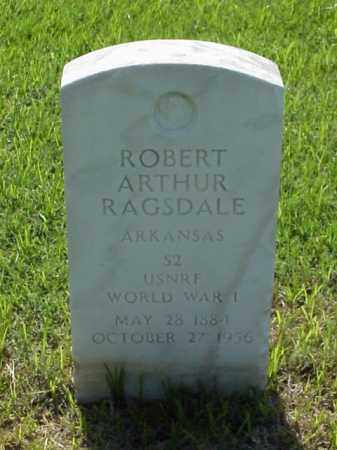 RAGSDALE  (VETERAN WWI), ROBERT ARTHUR - Pulaski County, Arkansas | ROBERT ARTHUR RAGSDALE  (VETERAN WWI) - Arkansas Gravestone Photos