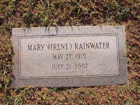 RAINWATER, MARY (IRENE) - Pulaski County, Arkansas | MARY (IRENE) RAINWATER - Arkansas Gravestone Photos