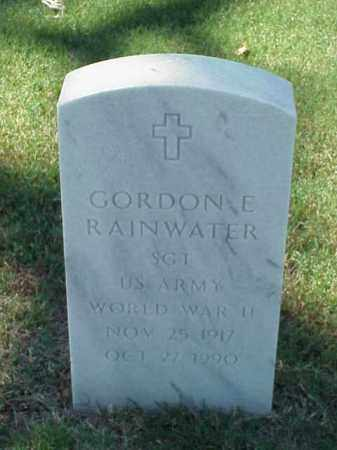 RAINWATER (VETERAN WWII), GORDON E - Pulaski County, Arkansas | GORDON E RAINWATER (VETERAN WWII) - Arkansas Gravestone Photos