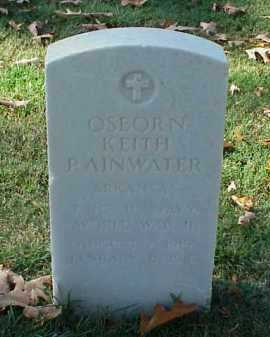 RAINWATER (VETERAN WWII), OSBORN KEITH - Pulaski County, Arkansas | OSBORN KEITH RAINWATER (VETERAN WWII) - Arkansas Gravestone Photos
