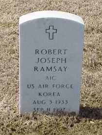 RAMSAY (VETERAN KOR), ROBERT JOSEPH - Pulaski County, Arkansas | ROBERT JOSEPH RAMSAY (VETERAN KOR) - Arkansas Gravestone Photos