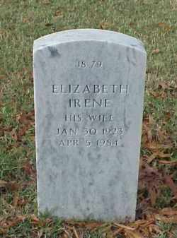 RAMSEY, ELIZABETH IRENE - Pulaski County, Arkansas | ELIZABETH IRENE RAMSEY - Arkansas Gravestone Photos