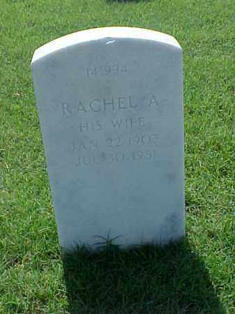 RAMSEY, RACHEL A - Pulaski County, Arkansas | RACHEL A RAMSEY - Arkansas Gravestone Photos
