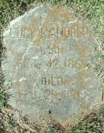 RANDOLPH, LUCY - Pulaski County, Arkansas   LUCY RANDOLPH - Arkansas Gravestone Photos