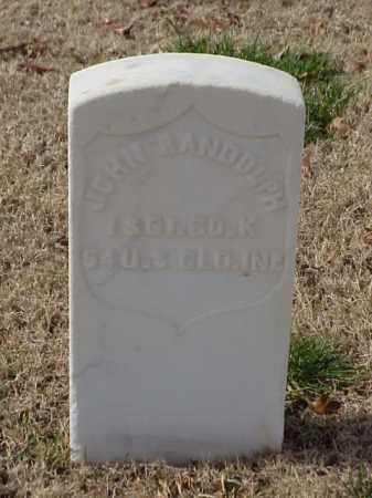 RANDOLPH (VETERAN UNION), JOHN - Pulaski County, Arkansas | JOHN RANDOLPH (VETERAN UNION) - Arkansas Gravestone Photos