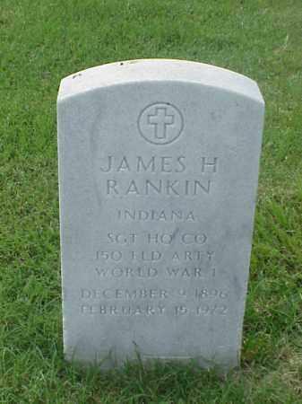 RANKIN (VETERAN WWI), JAMES H - Pulaski County, Arkansas | JAMES H RANKIN (VETERAN WWI) - Arkansas Gravestone Photos