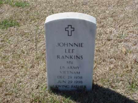 RANKINS (VETERAN VIET), JOHNNIE LEE - Pulaski County, Arkansas | JOHNNIE LEE RANKINS (VETERAN VIET) - Arkansas Gravestone Photos