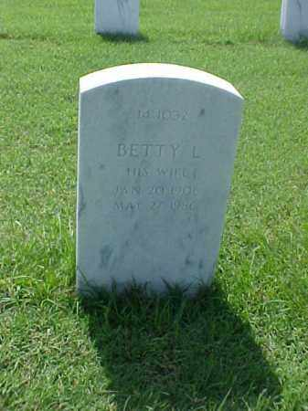 RATLIFF, BETTY L - Pulaski County, Arkansas   BETTY L RATLIFF - Arkansas Gravestone Photos