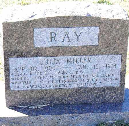 RAY, JULIA - Pulaski County, Arkansas | JULIA RAY - Arkansas Gravestone Photos