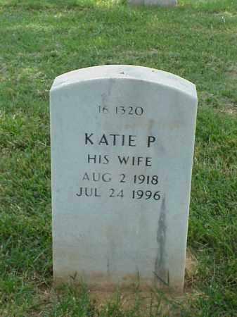 RAY, KATIE PEARL - Pulaski County, Arkansas   KATIE PEARL RAY - Arkansas Gravestone Photos