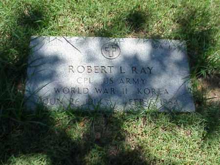 RAY (VETERAN 2 WARS), ROBERT L - Pulaski County, Arkansas   ROBERT L RAY (VETERAN 2 WARS) - Arkansas Gravestone Photos