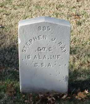 RAY (VETERAN CSA), STEPHEN J - Pulaski County, Arkansas   STEPHEN J RAY (VETERAN CSA) - Arkansas Gravestone Photos