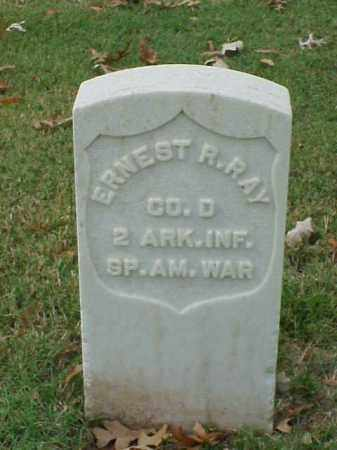 RAY (VETERAN SAW), ERNEST R - Pulaski County, Arkansas | ERNEST R RAY (VETERAN SAW) - Arkansas Gravestone Photos