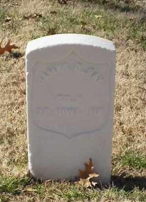 RAY (VETERAN UNION), JAMES B - Pulaski County, Arkansas | JAMES B RAY (VETERAN UNION) - Arkansas Gravestone Photos