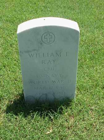 RAY (VETERAN WWII), WILLIAM E - Pulaski County, Arkansas | WILLIAM E RAY (VETERAN WWII) - Arkansas Gravestone Photos