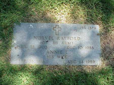 RAYFORD, ANNIE L - Pulaski County, Arkansas | ANNIE L RAYFORD - Arkansas Gravestone Photos