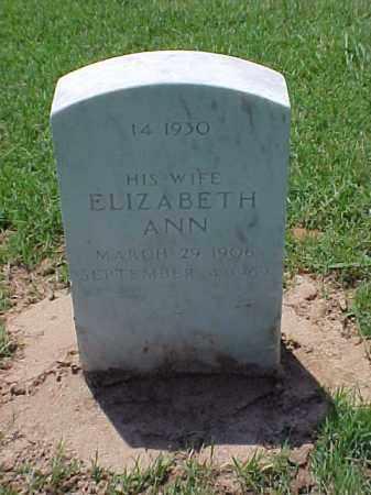 RAYMOND, ELIZABETH ANN - Pulaski County, Arkansas | ELIZABETH ANN RAYMOND - Arkansas Gravestone Photos