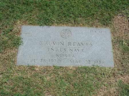 REAVES (VETERAN KOR), CALVIN - Pulaski County, Arkansas | CALVIN REAVES (VETERAN KOR) - Arkansas Gravestone Photos