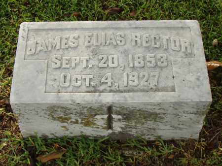 RECTOR, JAMES ELIAS - Pulaski County, Arkansas | JAMES ELIAS RECTOR - Arkansas Gravestone Photos