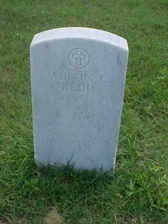 REDD (VETERAN WWII), ALTON E - Pulaski County, Arkansas | ALTON E REDD (VETERAN WWII) - Arkansas Gravestone Photos