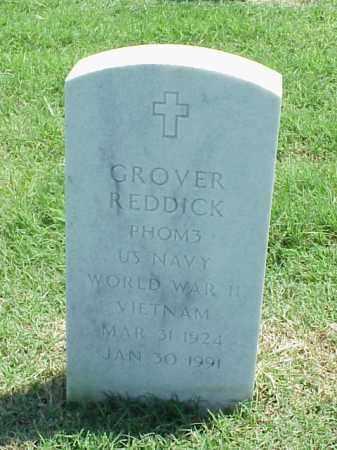 REDDICK (VETERAN 2 WARS), GROVER - Pulaski County, Arkansas   GROVER REDDICK (VETERAN 2 WARS) - Arkansas Gravestone Photos