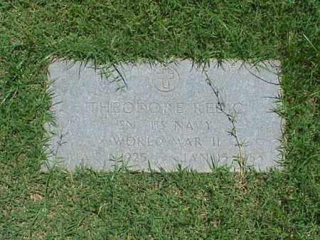 REDIC (VETERAN WWII), THEODORE - Pulaski County, Arkansas | THEODORE REDIC (VETERAN WWII) - Arkansas Gravestone Photos