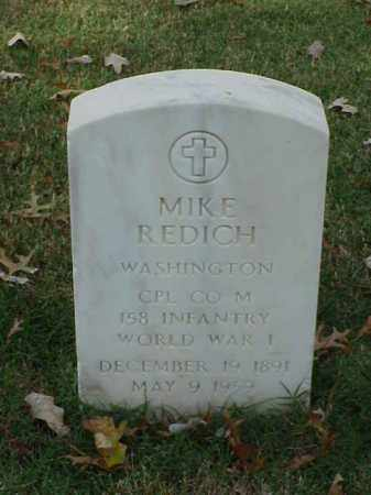 REDICH (VETERAN WWI), MIKE - Pulaski County, Arkansas | MIKE REDICH (VETERAN WWI) - Arkansas Gravestone Photos
