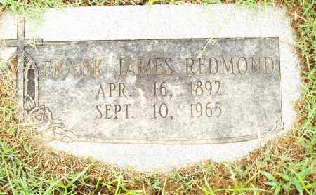 REDMOND, FRANK JAMES - Pulaski County, Arkansas   FRANK JAMES REDMOND - Arkansas Gravestone Photos