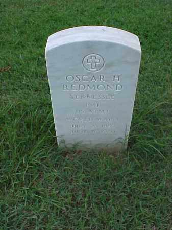 REDMOND (VETERAN WWI), OSCAR H - Pulaski County, Arkansas | OSCAR H REDMOND (VETERAN WWI) - Arkansas Gravestone Photos