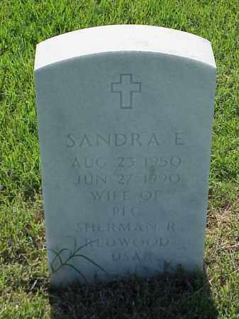 REDWOOD, SANDRA E - Pulaski County, Arkansas | SANDRA E REDWOOD - Arkansas Gravestone Photos