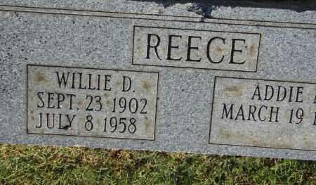 REECE, WILLIE D. - Pulaski County, Arkansas   WILLIE D. REECE - Arkansas Gravestone Photos