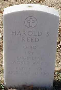 REED  (VETERAN WWI), HAROLD S - Pulaski County, Arkansas | HAROLD S REED  (VETERAN WWI) - Arkansas Gravestone Photos