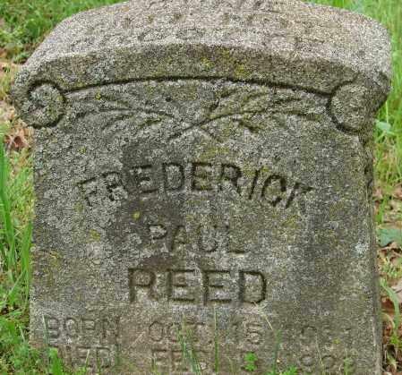 REED, FREDERICK PAUL - Pulaski County, Arkansas | FREDERICK PAUL REED - Arkansas Gravestone Photos