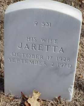 REED, JARETTA - Pulaski County, Arkansas   JARETTA REED - Arkansas Gravestone Photos