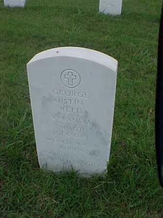 REED (VETERAN 2 WARS), GEORGE AUSTIN - Pulaski County, Arkansas   GEORGE AUSTIN REED (VETERAN 2 WARS) - Arkansas Gravestone Photos
