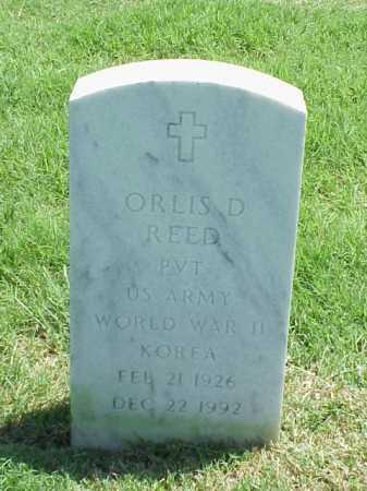 REED (VETERAN 2 WARS), ORLIS D - Pulaski County, Arkansas | ORLIS D REED (VETERAN 2 WARS) - Arkansas Gravestone Photos
