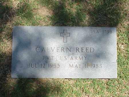 REED (VETERAN), CALVERN - Pulaski County, Arkansas | CALVERN REED (VETERAN) - Arkansas Gravestone Photos