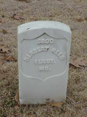 REED (VETERAN UNION), HERBERT - Pulaski County, Arkansas | HERBERT REED (VETERAN UNION) - Arkansas Gravestone Photos