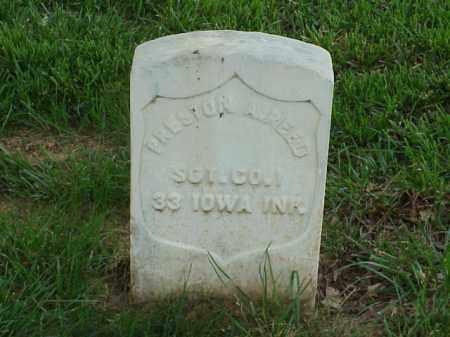 REED (VETERAN UNION), PRESTON  A - Pulaski County, Arkansas   PRESTON  A REED (VETERAN UNION) - Arkansas Gravestone Photos