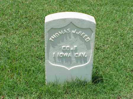 REED (VETERAN UNION), THOMAS J - Pulaski County, Arkansas | THOMAS J REED (VETERAN UNION) - Arkansas Gravestone Photos