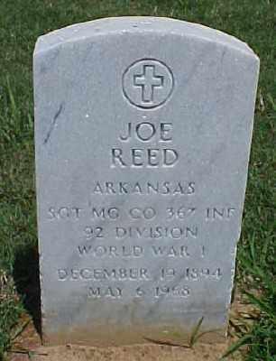 REED (VETERAN WWI), JOE - Pulaski County, Arkansas | JOE REED (VETERAN WWI) - Arkansas Gravestone Photos