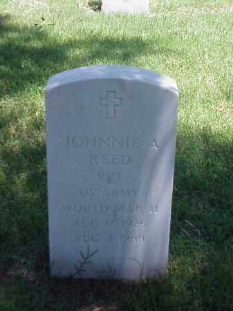 REED (VETERAN WWII), JOHNNIE A - Pulaski County, Arkansas | JOHNNIE A REED (VETERAN WWII) - Arkansas Gravestone Photos