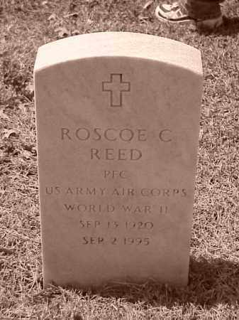 REED (VETERAN WWII), ROSCOE C - Pulaski County, Arkansas | ROSCOE C REED (VETERAN WWII) - Arkansas Gravestone Photos